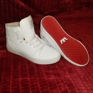 Supra Vaider White Leather